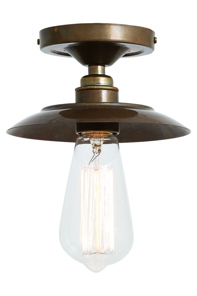 Industrial Flush Ceiling Light