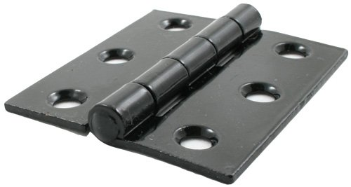 "Black 3"" Butt Hinge (pair)"