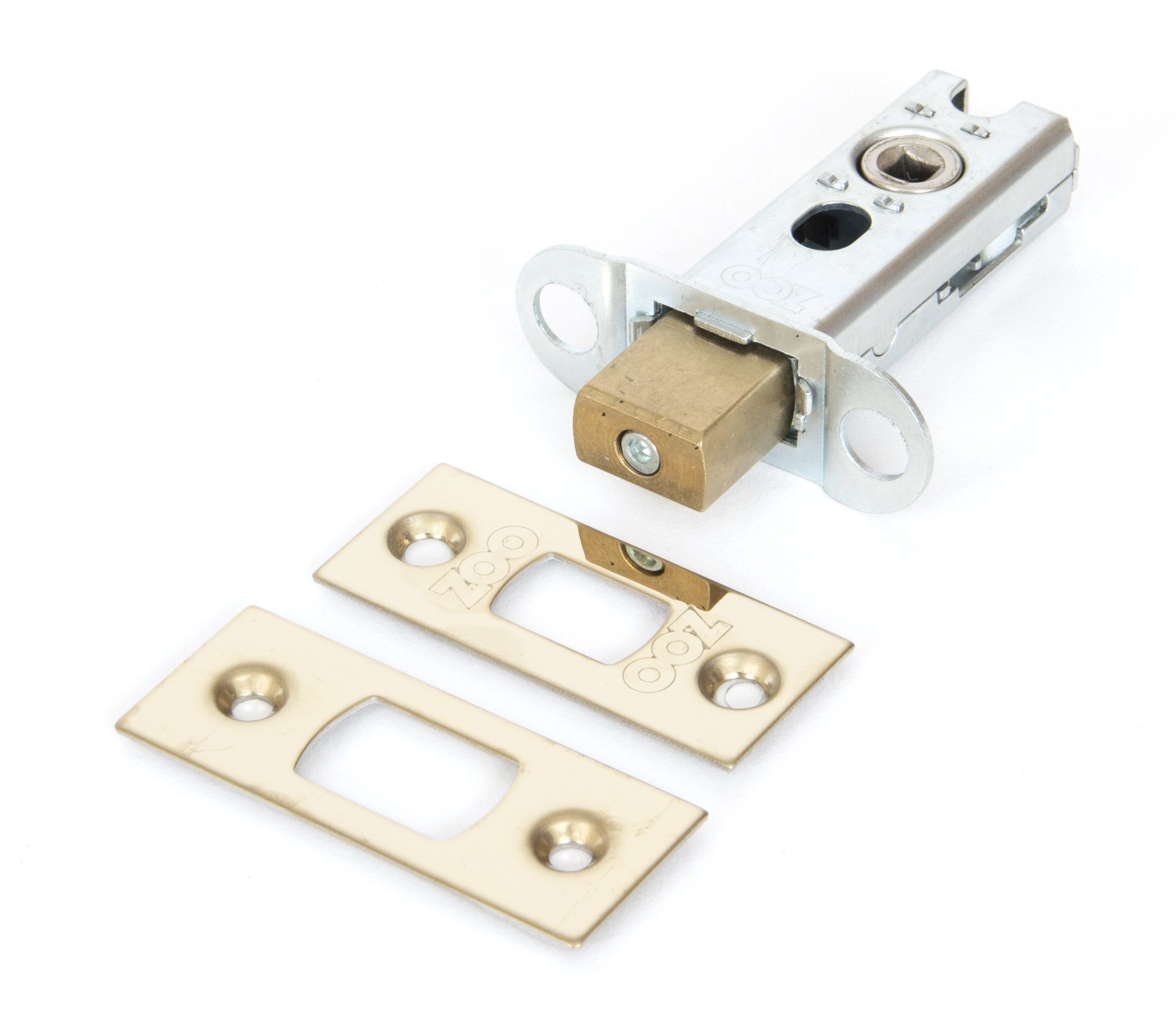 Brass 2'' Heavy Duty Tubular Deadbolt