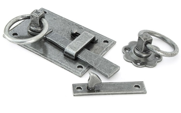 Pewter Cottage Latch - LH