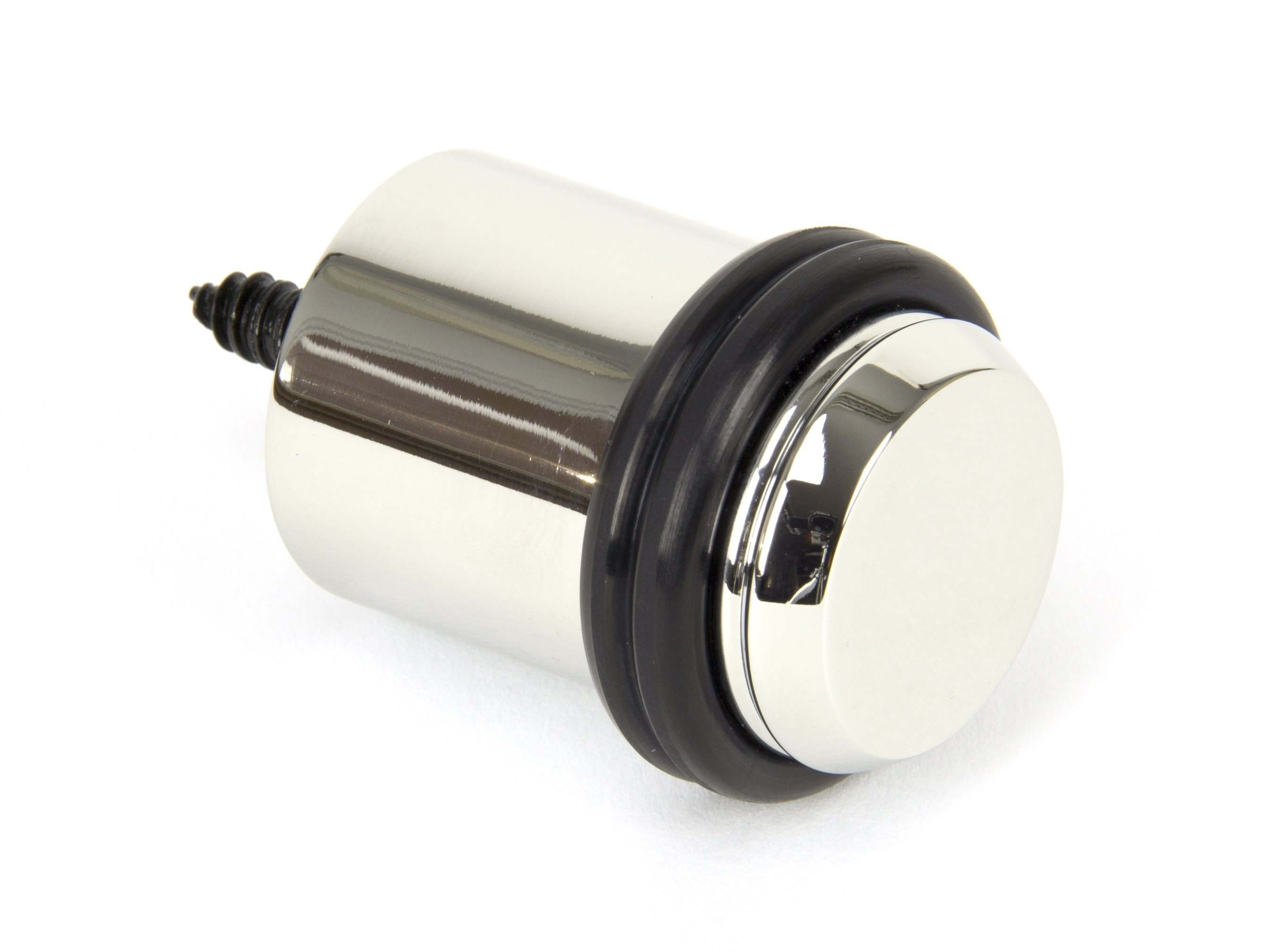 Polished Nickel Floor Mounted Door Stop