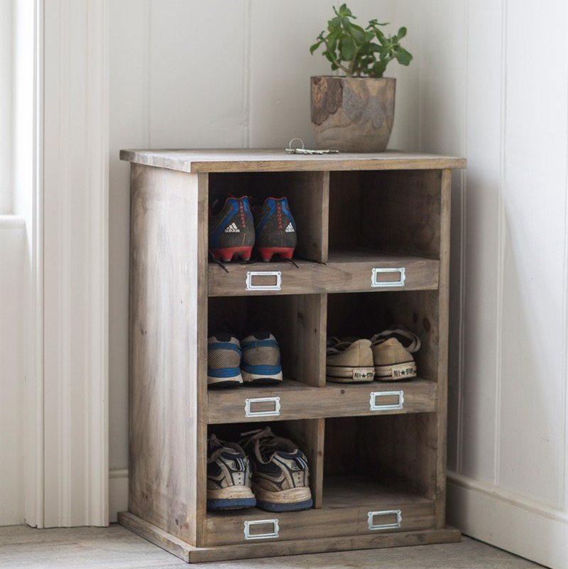 shoe storage unit small