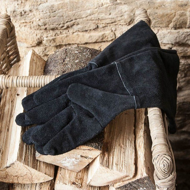 Gauntlet Gloves - Black
