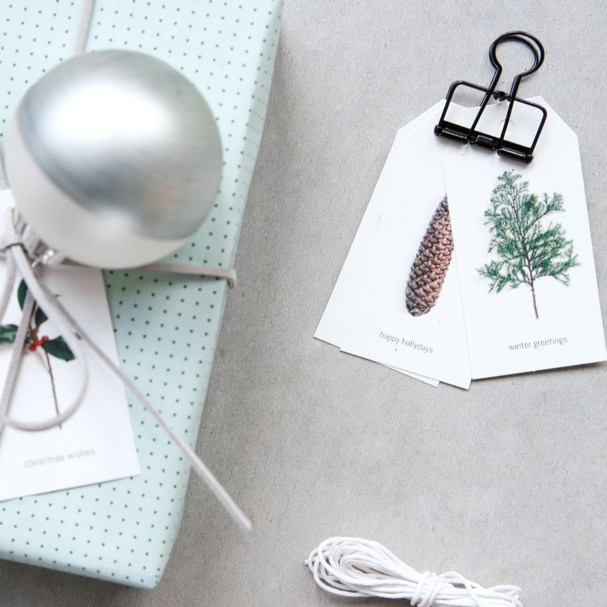 Winter Gift Tags SAVE 60%