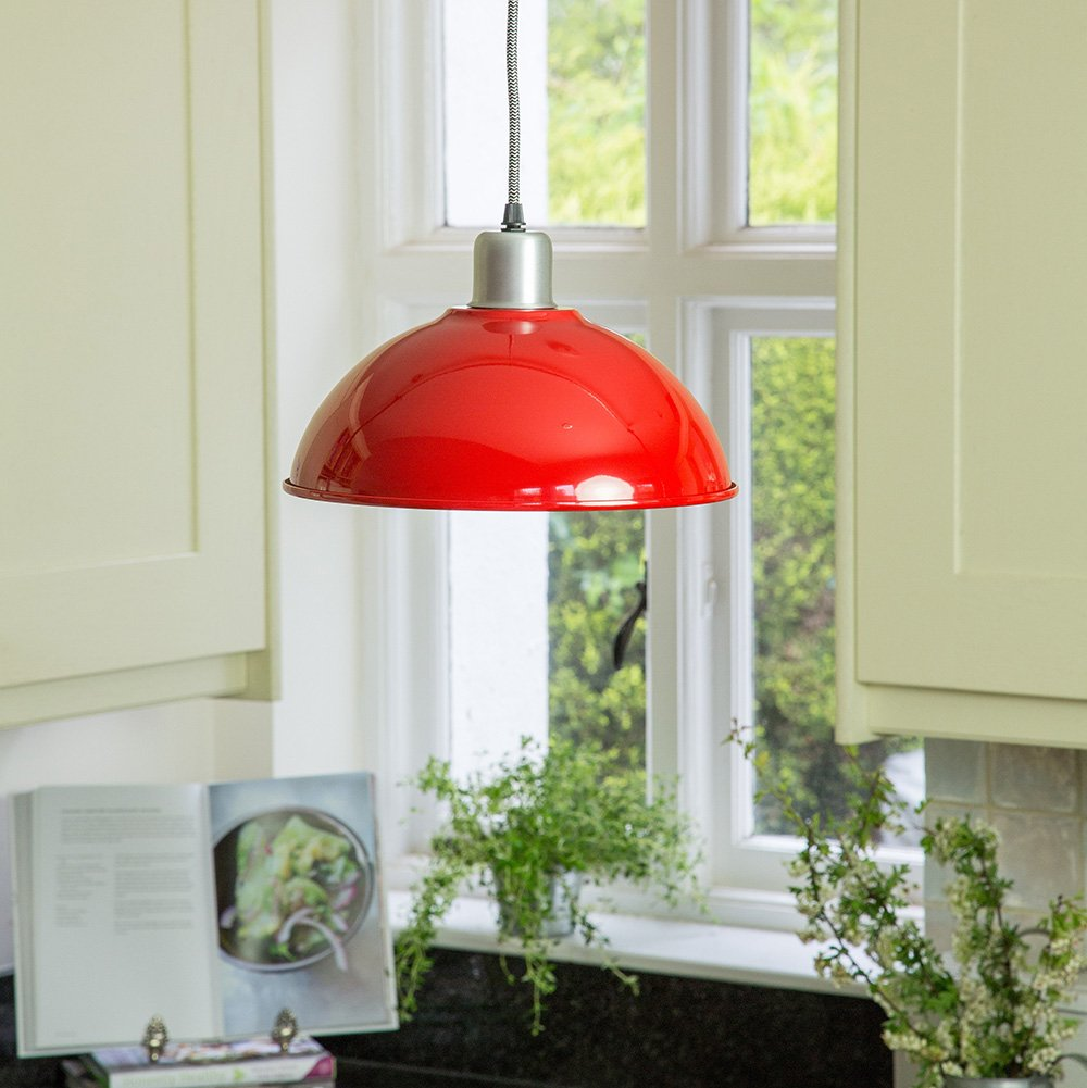 Basin Lamp - Red