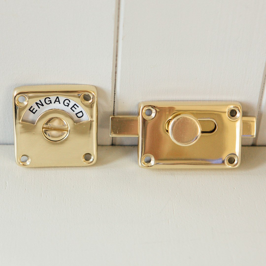 Indicator Bolt (Vacant/Engaged) - Brass