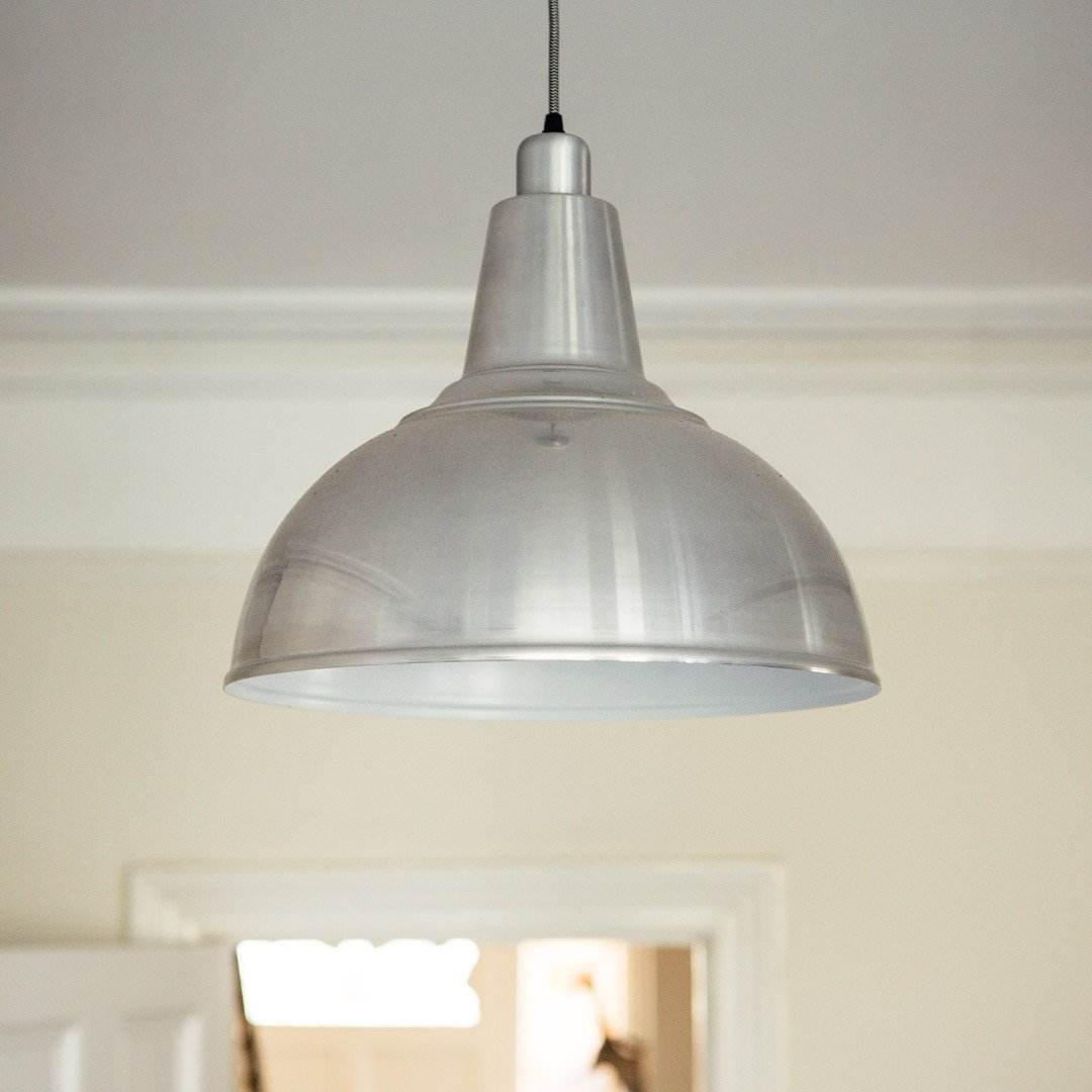 Large Kitchen Pendant Light - Aluminium
