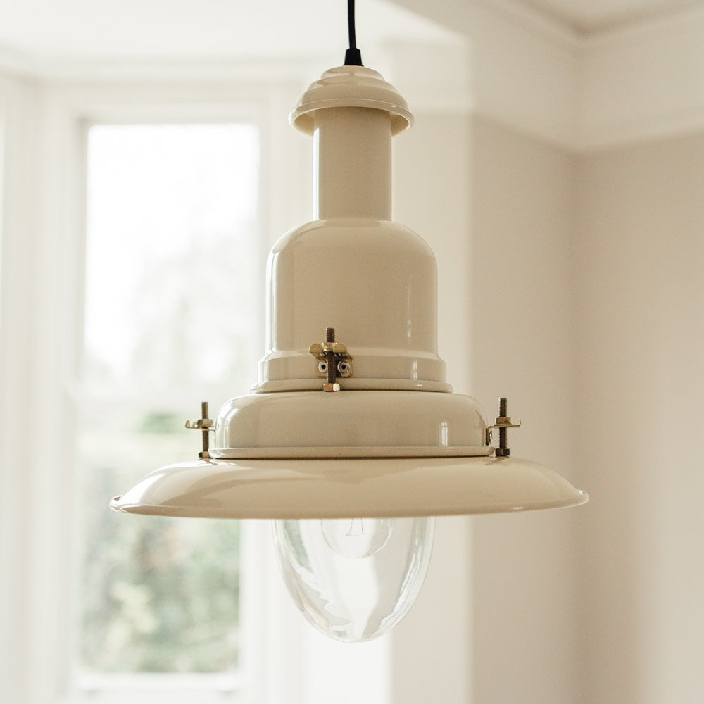 Fishing Pendant Light Large - Cream