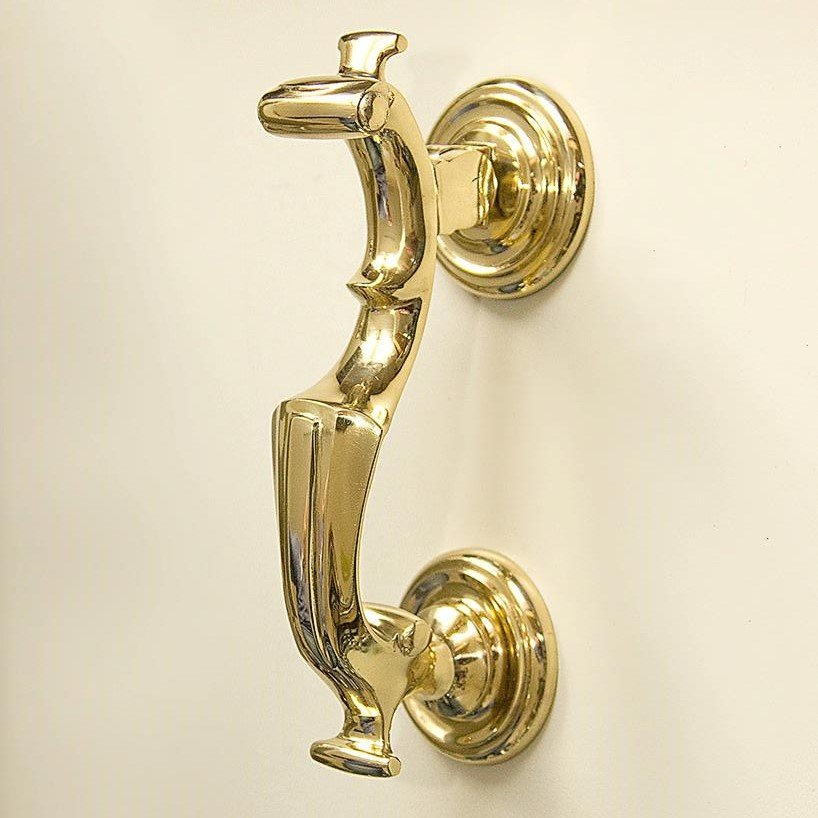 London Doctor's Door Knocker - Brass