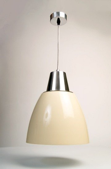 Noah Pendant Light - Cream (White Inside) save 50%