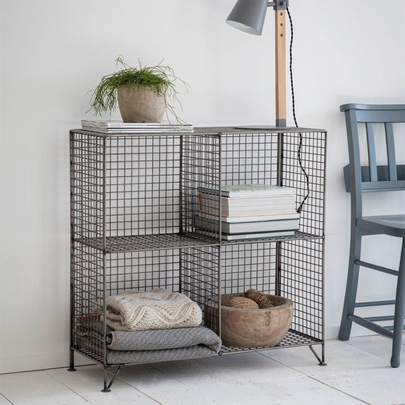 Mesh Shelving Unit - Small