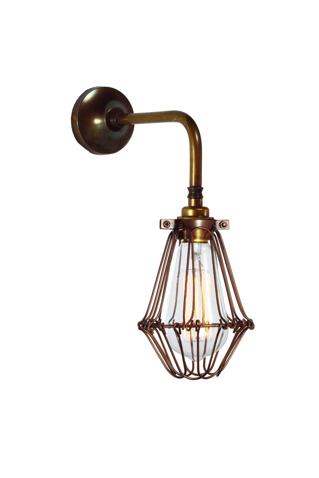 Industrial Cage Wall Light - SAVE 15%