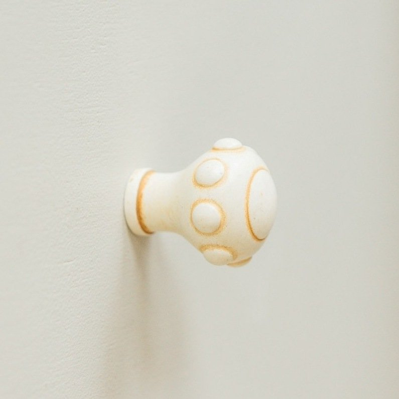 Spaceship Cabinet Knob from Turnstyle (Box of 6) - Ochre save 50%
