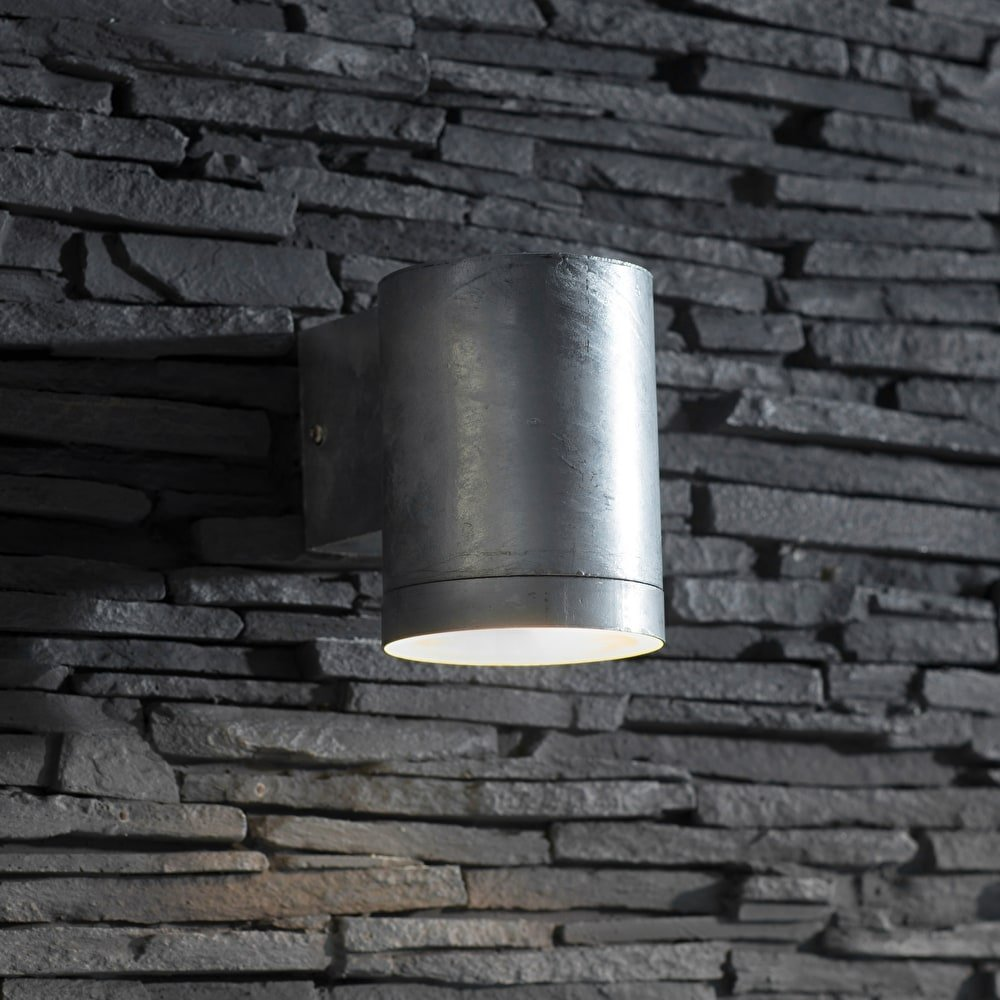 St Ives Galvanised Down Light - Large SAVE 15%