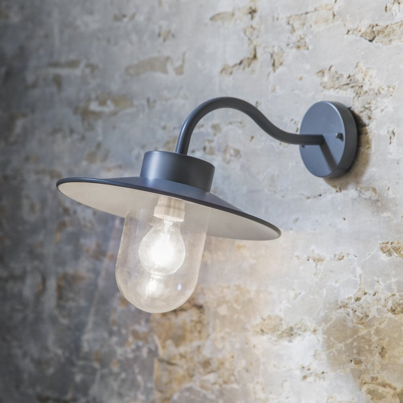 St Ives Swan Neck Light - Charcoal