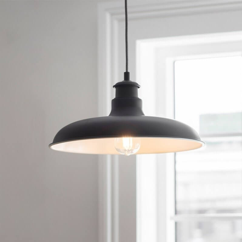 Toulon Pendant Light - Carbon