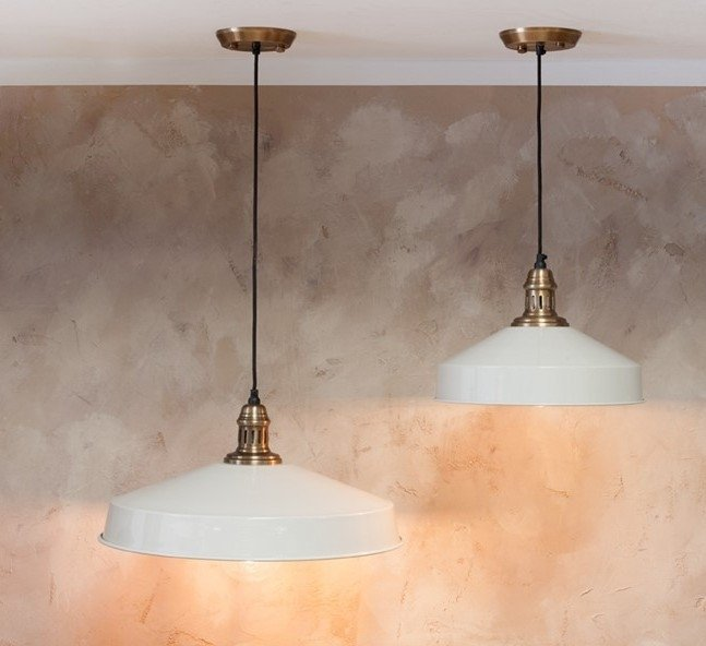 Vintage Pendant Light - Soft White