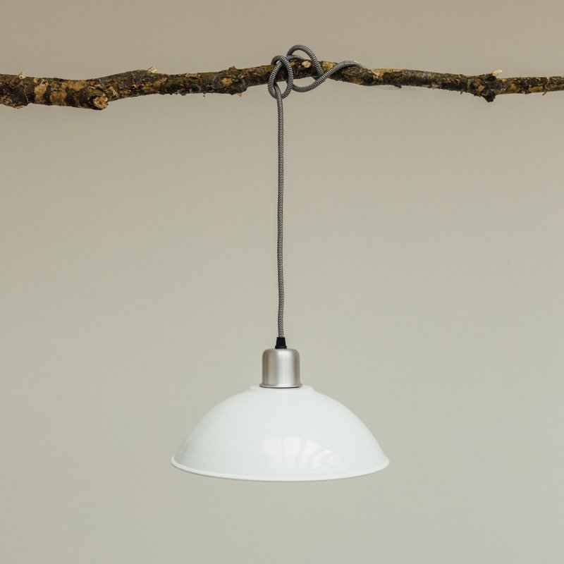 Basin Lamp - White