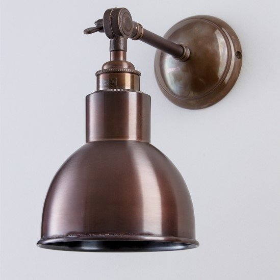 Winston Wall Light - Antique Brass