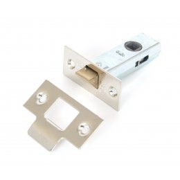 2.5'' Tubular Mortice Latch - Nickel Plated