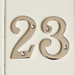 House Number '2' - Nickel