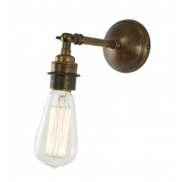 Vintage Bare Bulb Wall Light