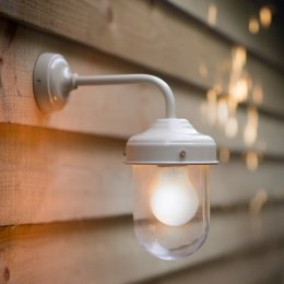 Barn Lamp - Clay