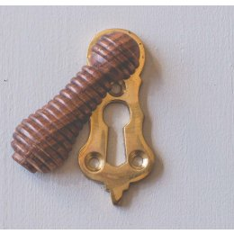 Beehive Lady Escutcheon - Rosewood