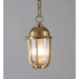 Brass Boatyard Outdoor Pendant Light