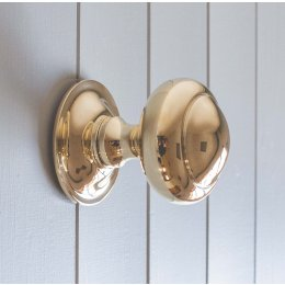 Circular Door Pull- Brass