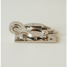 Claw Sash Window Fastener - Polished Nickel