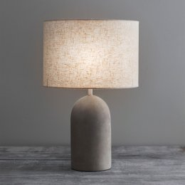 Concrete Table Lamp SAVE 15%