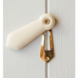 Porcelain Escutcheon - Cream