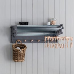 Extending Clothes Dryer - Charcoal
