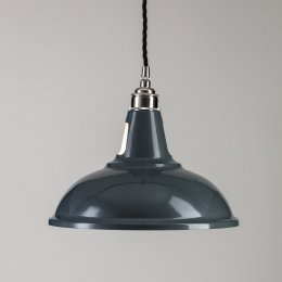 Factory Pendant Light  - Grey
