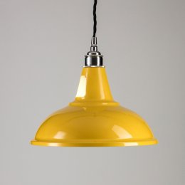 Factory Pendant Light - Yellow
