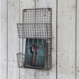 Farringdon Wirework Magazine Rack