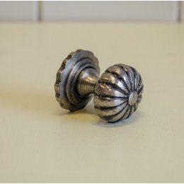 Flower Cabinet Knob - Pewter save 30%