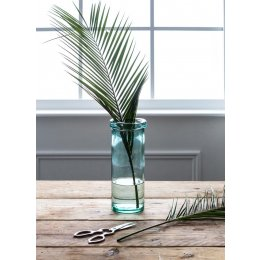 Glass Column Vase - Medium