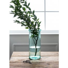 Glass Column Vase - Tall