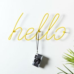 Hello Coat Rack - save 20%