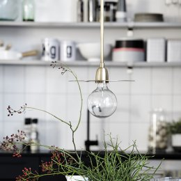 Brass Pendant Light - save 15%