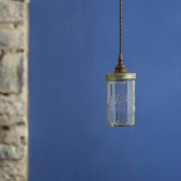 Jam Jar Pendant Light
