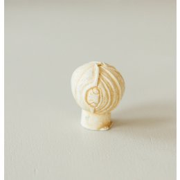 Lotus Bud Cabinet Knob from Turnstyle (Box of 6) - Ochre