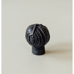 Lotus Bud Cabinet Knob from Turnstyle (Box of 6) - Black Bronze