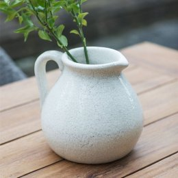 Ravello Ceramic Flower Jug - White