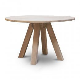 Raw Oak Dining Table