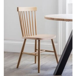 Spindle Back Chair - Oak