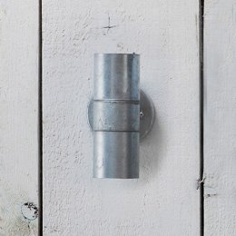St Ives Galvanised Up & Down Light