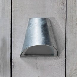 St Ives Galvanised Funnel Light